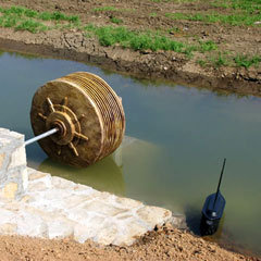 tesla turbine as waterwheel 1
