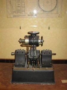tesla turbine in museum in belgrade